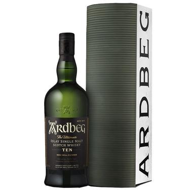 Whisky Ecosse Islay Single Malt Ardbeg Ten 46% 70cl Etui Warehouse