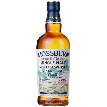 Whisky Ecosse Speyside Sgle Malt Mossburn Vintage Cask 4 Teaninich 10 59.1% 70cl