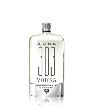 Vodka Angleterre Squadron 303 Flying Flask 40% 10cl