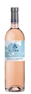 Ctes Provence Rose Cote&mer Chateau Des Bormettes 2019