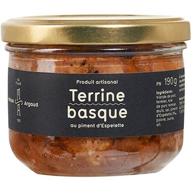 Terrine Basque Bocal 190g