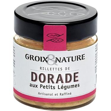 Rillettes De Dorade Aux Petits Legumes 100g