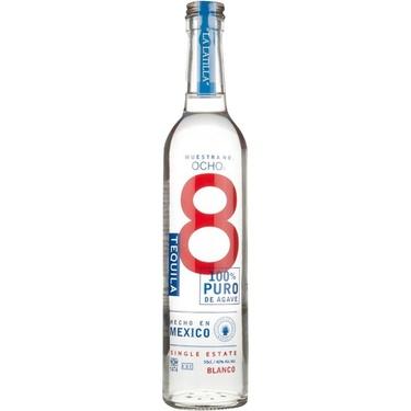 Tequila Ocho Blanco 2015 La Latilla 40% 50cl
